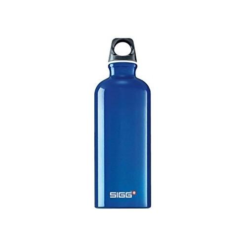 Gourde Sigg Traveller Alu 0.6l Bleu