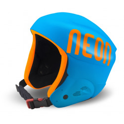 Casque de Ski Neon Hero Teen Cyan / Orange Fluo