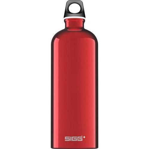Gourde Sigg Traveller Alu 1L Red