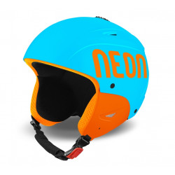 Casque de Ski Wild Plus Cyan / Orange Fluo