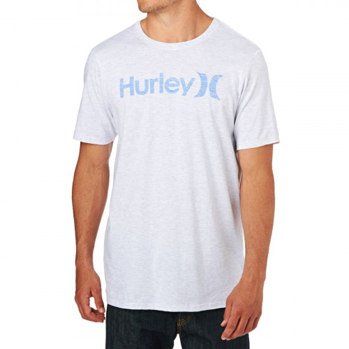 T-Shirt Hurley One & Only Push Trough Gris