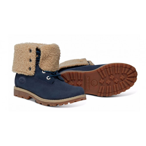 Chaussures Shearling Timberland Authentics 6in Blue f6g7yb