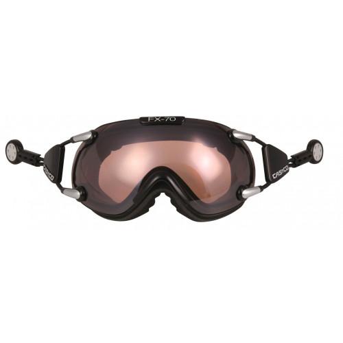 Masque De Ski Casco Fx70 Vautron Black