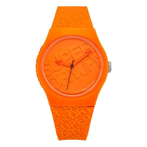 Montre Superdry Mono-couleur Orange
