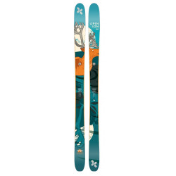 Skis Extrem Opinion 98 Bleu