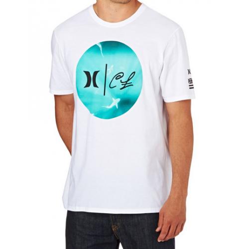 T-Shirt Hurley Clark Week White