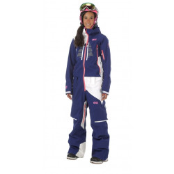 Combinaison Ski Picture Moovy Suit Dark Blue White