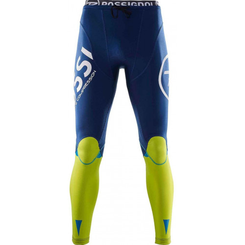 Collant Rossignol Infini Compress Race Tights Blue