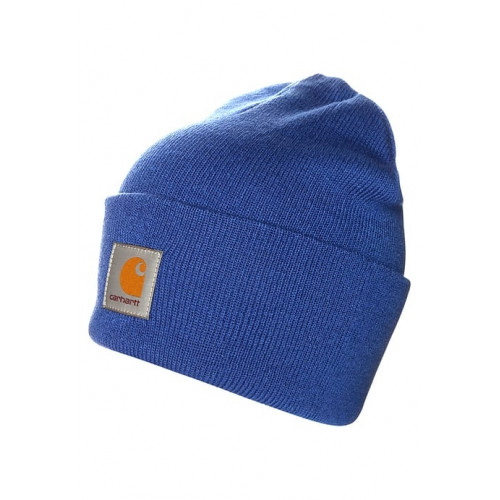 Bonnet Carhartt Acrylic Watch Hat Yale Blue