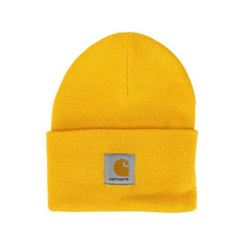 bonnet carhartt acrylic watch hat yellow precision ski. Black Bedroom Furniture Sets. Home Design Ideas
