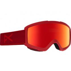 Masque De Ski Anon Helix 2.0 Blaze Red Solex