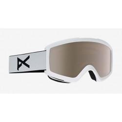 Masque De Ski Anon Helix 2.0 White Silver Amber