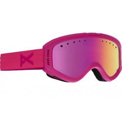 Masque de Ski Kids Anon Tracker Pink / Pink Amber