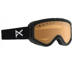 Masque de Ski Kids Anon Tracker Black / Amber
