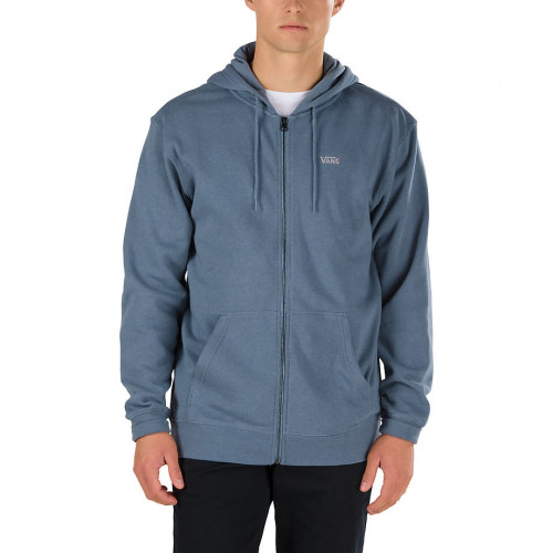 Sweat A Capuche Vans Mn Core Basics Zip Blue Mirag
