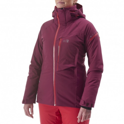Veste ski Millet Ld Big White Stretch Velvet Red