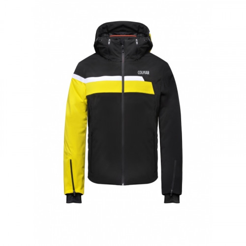 Veste de ski Colmar 3-Tre Evolution Black Yellow