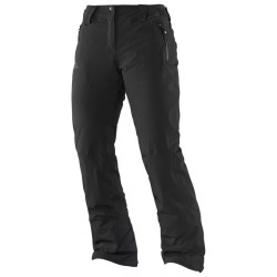 Pantalon De Ski Salomon Iceglory Black