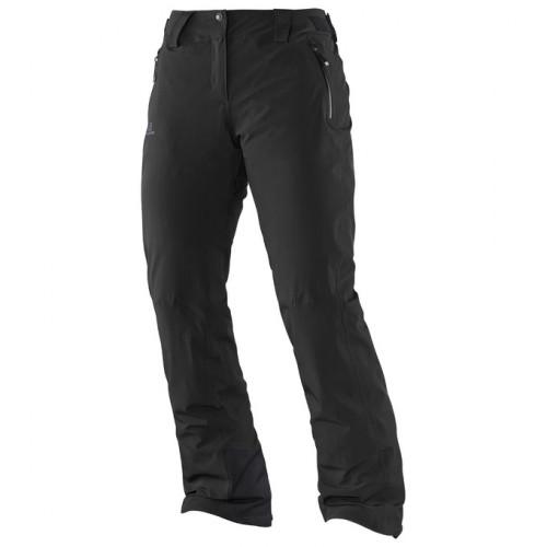 Pantalon De Ski Salomon Iceglory Black