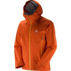 Veste Salomon Jacket X Alp 3L Jkt Vivid Orange