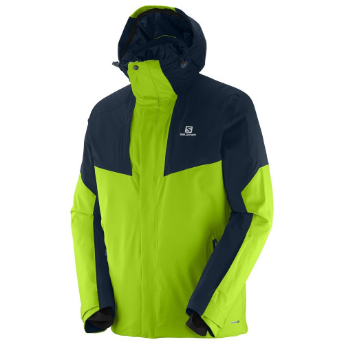 Veste de ski Salomon Icerocket Granny Green