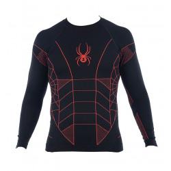 Sous Vêtement Spyder Skeleton X-static Blk/noe