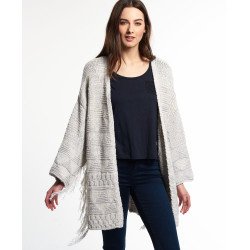Kimono Superdry Tassel Nomad Ecru Twist