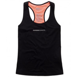 Débardeur de Sport Superdry Core Gym Vest Black