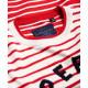 Pull Superdry Le Marais Stripe Knit Deep Red/Cream