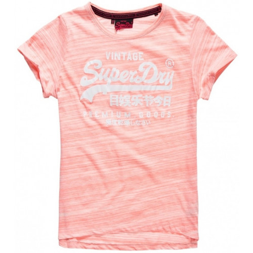 T-shirt Superdry Premium Goods Bf Candy Coral Jers
