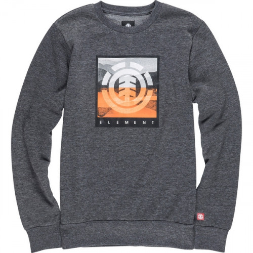 Sweat Element Rolling Cr Boy Charcoal Heather