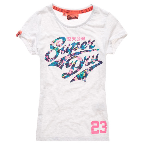 T-shirt Superdry Stacker Entry Ice Marl