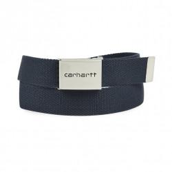 Ceinture Carhartt Clip Belt Chrome Black