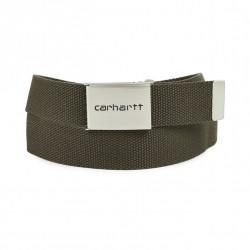 Ceinture Carhartt Clip Belt Chrome Cypress