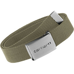 Ceinture Carhartt Clip Belt Chrome Leather