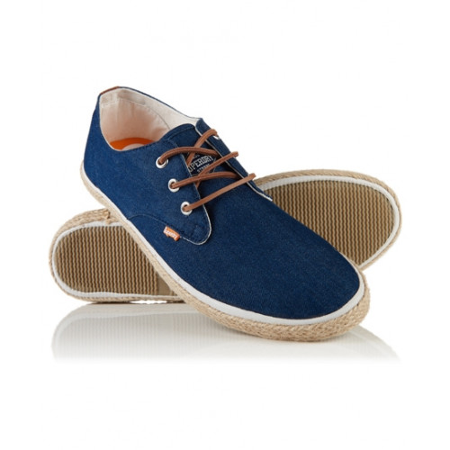 Chaussures Superdry Skipper Raw Denim