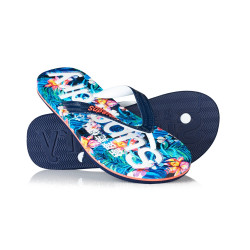 Tongs Superdry Aop Flip Flop Marbelled Hawaiian