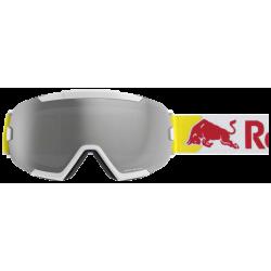 Masque Red Bull Shelter Matt White Silver Snow