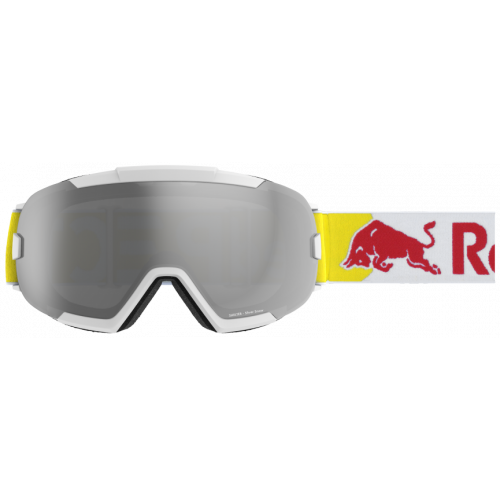 Masque Red Bull Shelter Matt White Silver Snow