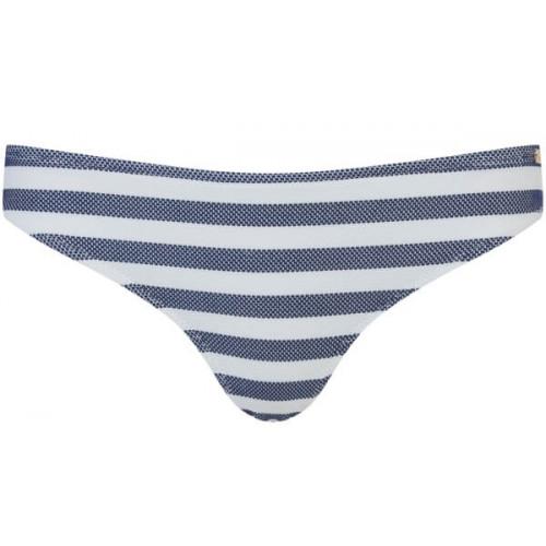 Bas De Maillot Superdry Cali Stripe Navy/White