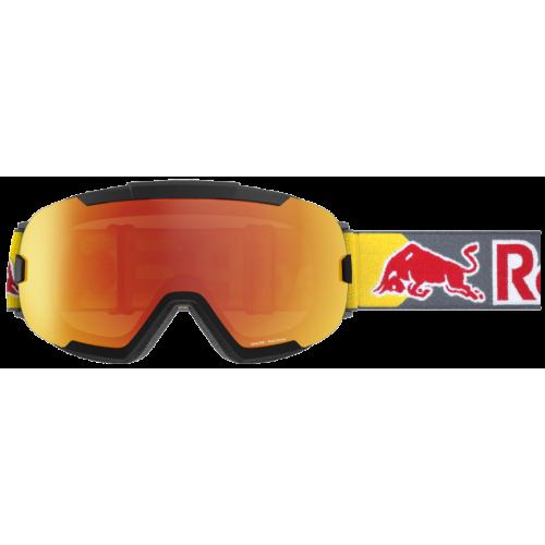 Masque Red Bull Shelter Matt Black Red Snow