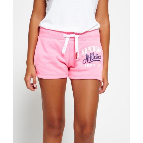 Short Superdry Track & Field Lite Short Pink Sorbt