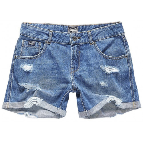 Short Superdry Steph Boyfriend Authentic Mid