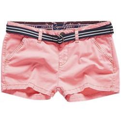 Short Superdry International Hot Neon Pink