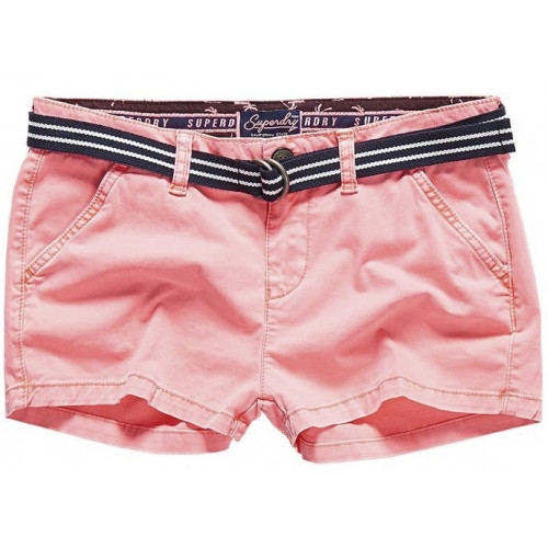 Short Superdry International Hot Neon Pink