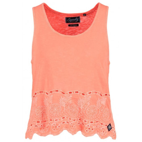 Débardeur Superdry Beach Broiderie Shell Flame Cor