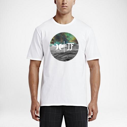 Tee-shirt Hurley JJF Nebula Tee White