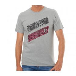 Tee-shirt Hurley Icon Slash Julian Bca Dark Grey