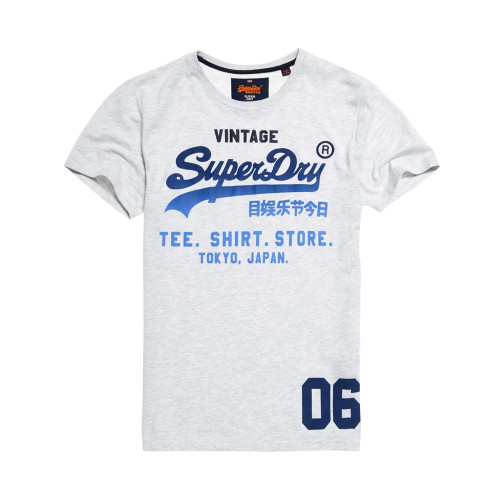 T-shirt Superdry Shop Fade Ice Marl