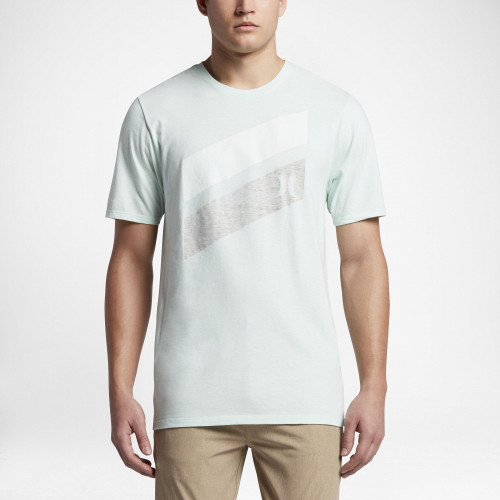 Tee-shirt Hurley Icon Slash Push Through Cool Mint